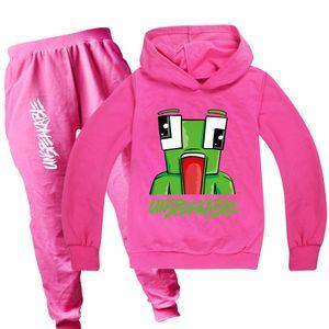 Teen Kids Novelty For Hoodies Sets Pants Toddler Sleeve Jogger Red Sweatshirts Sets Black Tracksuits Long Rose Unspeakable And Boys Gir Cpkr
