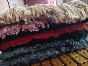 High-end gli uomini e le donne autunno e l'inverno di lana scialli 180 * 30cm di marca della nappa di disegno può essere all'ingrosso