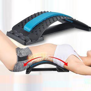 Yoga Mat masaje de la cintura Flexibilidad Training cintura de los deportes de corrección para los ejercicios de Yoga y Pilates