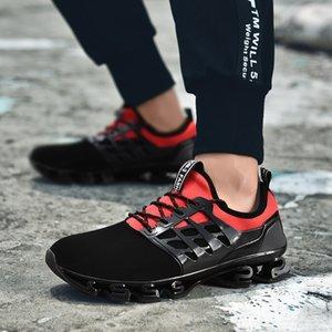 Pareja estilo malla zapatillas de deporte deporte del guerrero de la hoja zapatos ocasionales de tendencia de la moda juvenil de malla transpirable enérgica m2 de calzado deportivo para hombres y mujeres