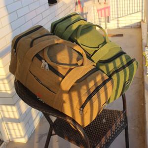Borse di tela da uomo di viaggio di grande capienza Duffel di viaggio bagaglio a mano sacchetto multifunzionale Weekend Bag Sac de XA243K 200921