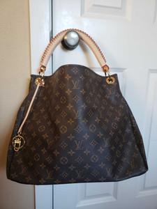 Nave veloce di qualità superiore ossidante disegno donne del cuoio genuino della borsa della borsa maniglia superiore hobo tote ARTSY stile
