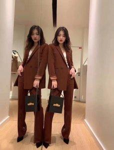 MMa05 V-neck Ya dançarina 19 revestimento do outono um novo britânica elegante botão de inverno estilo Zhuo Slim Fit jaqueta pequena terno e 93.253