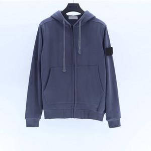 Оптовые одежды дизайнерские мужские куртки бренд пальто роскошные толстовки с капюшоном толстовки на молнии повседневная ветровка камень D208291CE