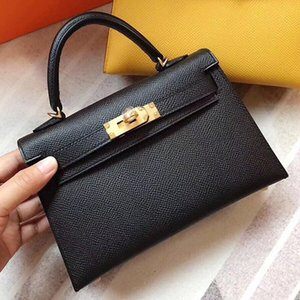 2020 nouvelle mode Mini sac féminin polyvalent deuxième génération à main en cuir Kelly seule épaule Messenger sac à main des femmes
