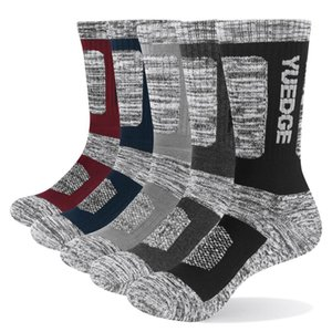 YUEDGE Men's Socks Cotton Cushion Casual Crew Socks Thick Winter Warm Thermal Socks For Men 5 Paris 200924
