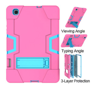 SM-P615 Shockproof Silicone Case with Pencil Slot for Samsung Galaxy Tab S6 Lite 10.4 P610 P615 Cover