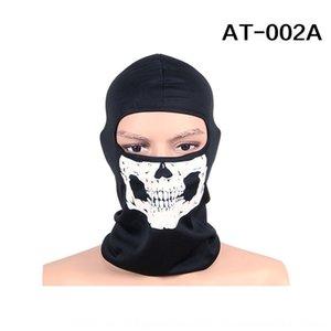 Konkav-konvexen taktische Geistermaske Kopfdeckeldichtung Schädel warm halten Maske winddicht warmen Reithut AT8724