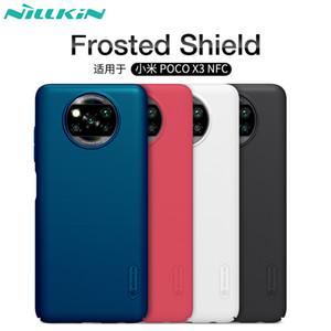 Para el caso de Poco X3 NFC cubierta de Xiaomi Poco X3 estupendo de Nillkin de esmerilado Escudo Mate caja trasera dura del Poco teléfono NFC X3 versión global