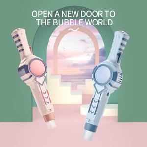 Novidade brinquedo máquina de brinquedos para crianças dom máquina de bolha de fumaça elétrica bolha de sabão para crianças Fumo da vara bolha