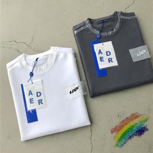2020ss Nakış Tişört Erkekler Kadınlar Kore İyi kalitede Casaul Oversize T Shirt