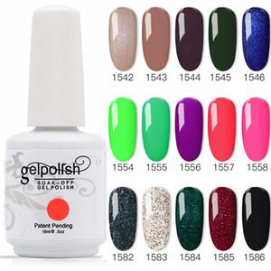 100% Brand New Gel Nail Polish Soak Off Off Gel 403Colors 15ml 12pcs / lote 15ml Frete Grátis