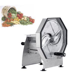 manual vegetable slicer commercial potato lemon apple slicer hand fruit cutting machine juice shop bar thickness adjustable 1