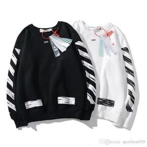 OFF europea e abbigliamento marea American matura Bianco OW sciolto maglione uomini e donne allo stesso punto in di stile porta hip-hop selvatici pullover