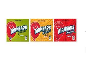 1 Día de envío vacío medicinal ojivas Airheads Xtremes Starburst Sour Gummies Bolos medicado caramelo bolsas de embalaje del envío libre de DHL