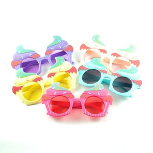 والجليد الجملة الجديدة الفتيات النظارات الشمسية الكامل ل candy الألوان جميلة البلاستيك نظارات الفتيان لطيف 2020 تصميم كريم jpeih