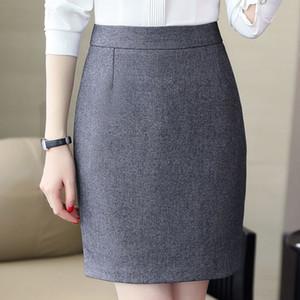 tek adım etek elbise kalem gündelik pantolon çok yönlü iş kıyafetleri kalem etek q5WdL In pantolon ve sonbahar One-Step Casual bahar