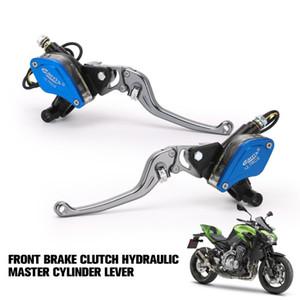 Aleación de aluminio de la motocicleta Hydraulic Cilindro maestro Palanca universal hidráulica de 22 mm palanca de embrague del freno delantero embrague para