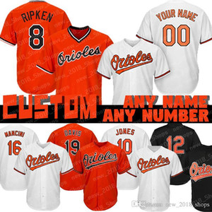 8 Cal Ripken Jr Özel Orioles 19 Chris Davis 16 Kolten Wong 10 Adam Jones 15 Şans Sisco 22 Jim Palmer 37 Dylan Bundy 25 Anthony Santande