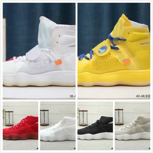 El Diez diseñador al por mayor de los zapatos corrientes de los zapatos Hyperdunk espuma blanca HYPER clavada zapatillas de deporte para los hombres de las mujeres 2017 de alta calidad de 10X