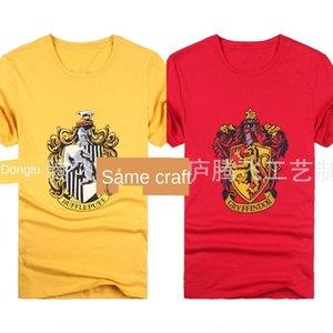 T-shirt Scarf Ouk5t Harry Potter uniforme escolar desempenho manga curta não T-shirt T-shirt de algodão / tie RavenclawI algodão lenço
