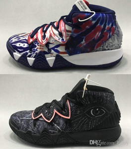 Mens Kybrid S2 PS Kyrie Hybrid What The Black Mens Basketball Shoes Trainer Sneakers Outdoor Baskets des Chaussures zapatos