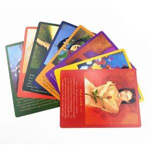 Englisch Guidance Set Playing Games Partei-Feiertag Täglich 44 Familien Geist Oracle Message Board Karte Karten Karten Pcstarot TSimo mywjqq