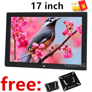 17 Inch LED Backlight HDMI 1920*1080P Full Function Digital Photo Frame Electronic digitale Picture Music Video