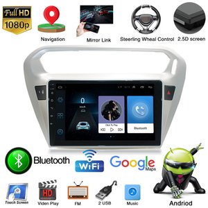 Global Free 1GB RAM 16G ROM 9 Inch Android 9 Car Video Player for PEUGEOT 301 Auto Radio GPS Navigation