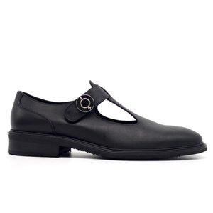 Взлетно-посадочная полоса лето натуральная кожа дышащий обувь Мужчины Hook Loop Hollow сандалии высокое качество Vintage вечернее платье Sandalia Masculina
