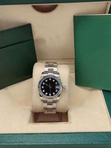 36MM Damenuhr Automatik-Uhrwerk Uhren Montre Day Uhren Just Style Uhr 316L Edelstahl Saphir Luxusuhr