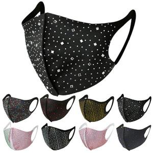 маски для лица маска для лица мода алмазов горный хрусталь маска для лица модницы ночной клуб сторона горячий алмаз ювелирных изделий с бриллиантами маска оптовой
