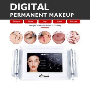 Permanent Makeup Tattoo Machine Eye Brow Lip Rotary Pen MTS PMU System Artmex V8