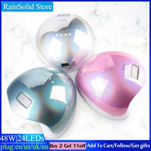 RainSolid SUN 5 UV-LED-Lampe für Nägel Trockner 54W / 48W / 36W Ice-Lampe für Maniküre Gel-Nagel-Trocknung Gel kostenfrei
