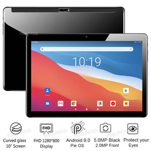 """Factory Direct Sale New Arrival Google Support 10 inch android 9.0 2.5D TP tablet IPS Screen Phone Call WiFi GPS Tablet 10 10.1"""""""
