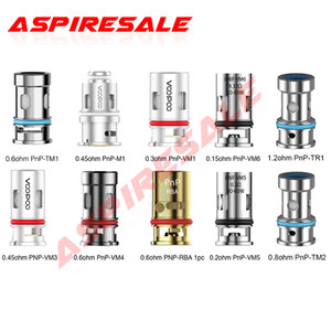 Authentic Voopoo PNP Bobine PNP-M2 R2 C1 PNP-VM1 / VM3 / VM4 / VM5 / VM6 / TM1 Bobina per voopoo Vinci R Trascina X Argus Air Kit
