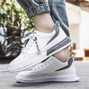 PU Chaussures Skater Casual Mode Low Cut Chaussures de skate robuste chez les adolescentes Plimsolls coréenne Ulzzang Chaussures Homme Chaussures tendance automne Conseil