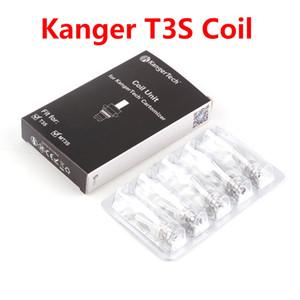 정통 Kangertech MT3 T3S 코일 단위 Kanger CC 지우기 Cartomizer 분무기 교체 코일 헤드 1.5 1.8 2.2 2.5 옴 DHL