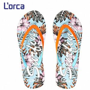 Kadınlar Ayakkabı Sliper Yaz Bohemya Çiçek Plaj Sandalet Kama Platformu Tangalar Terlik Erkekler Kapak Zapatos De Mujer 2020 LL8M # Flops