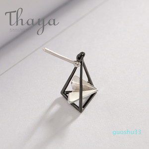 Hot Sale Thaya Paper Airplane Earrings Triangular s925 Silver Ear Stud for Women Simple Elegant Dream Simple Jewelry Personalized