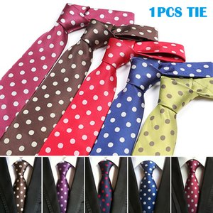 New Men's Large Dot Ties Hot Sale Fashion Men Tie For Work Cadeau Homme Casual Male Gifts Cravate Homme