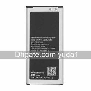 cgjxs Original-OEM-S5 Mini Eb -Bg800cbe G800f Mobiltelefon-Batterie 2100mAh Freier Verschiffen-Groß