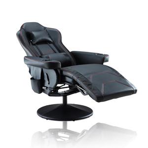 Kostenloser Versand Gaming Chair / Reclining Gaming Chair / Verstellbare Kopfstütze und Lordosenstütze Boss Chair neue bequeme PP191981AAB