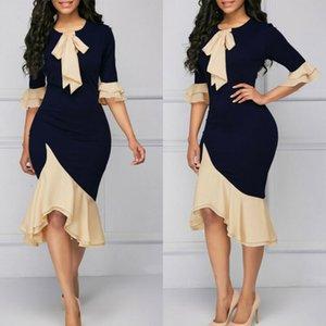 2020 vendedores CALIENTES de las mujeres elegantes Office Lady Formal Wear Work Party Busin Lápiz Dr. Traje de alta calidad