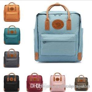 colore svedese Arctic Fox Fjallraven Kanken Zaino classico delle donne di seconda generazione borse di stile di modo disegno del sacchetto della tela di canapa impermeabile 7L 16L