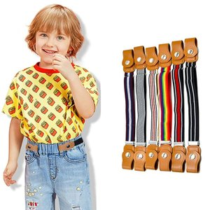 Child Buckle-Free Elastic Belt No Buckle Stretch Belt Strap for Kids Toddlers Adjustable Boys and Girls Belts No bulge No Hassle Pants Jeans