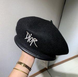 2020 Material de alta calidad mezclado con plegado carta de color puro de la moda del sombrero de la sombrilla de lujo negro F4 sombrero plegable