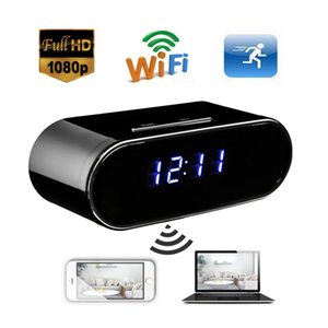 Allarme 1080P di visione notturna dell'orologio della macchina fotografica WIFI Mini IP della macchina fotografica dell'orologio in tempo reale Vedi Video Recorder Monitor