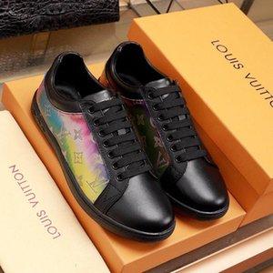 Léger Luxembourg Sneaker Men '; S Chaussures Manière Vintage Schuhe confortable Type de luxe respirante Chaussures Mode Chaussures Flats Plat