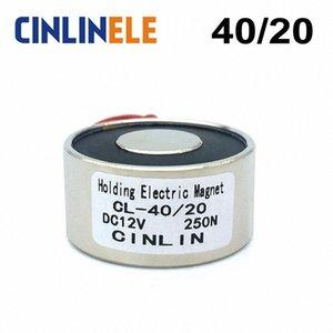 D40mm * H20mm-Holding-Elektromagnet Hebe 25kg / 55lbs / 250N Magnet Sucker Elektromagnet DC 6V 12V 24V Nicht-Standard-Custom NLax #